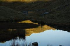 Σειρά βουνών Snowdonia Στοκ Φωτογραφία