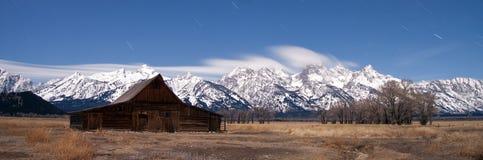 Σειρά βουνών Teton στοκ φωτογραφία