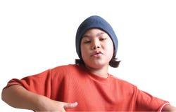 σειρά εφηβική Στοκ εικόνα με δικαίωμα ελεύθερης χρήσης