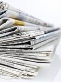 σειρά εφημερίδων στοκ εικόνα με δικαίωμα ελεύθερης χρήσης