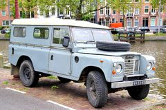 Σειρά ΙΙΙ του Land Rover Στοκ Εικόνες