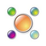 σειρά κουμπιών ελεύθερη απεικόνιση δικαιώματος