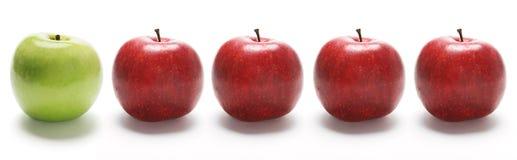 σειρά μήλων Στοκ εικόνες με δικαίωμα ελεύθερης χρήσης