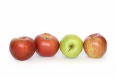 σειρά μήλων Στοκ φωτογραφία με δικαίωμα ελεύθερης χρήσης