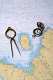 σειρά μαθημάτων χαρτογράφη&s Στοκ φωτογραφίες με δικαίωμα ελεύθερης χρήσης