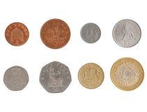 Σειρά νομισμάτων λιβρών Στοκ Εικόνα