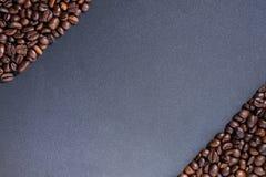 σειρά πλαισίων πλαισίων τροφίμων καφέ φασολιών Στοκ Φωτογραφίες