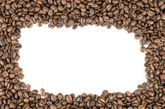 σειρά πλαισίων πλαισίων τροφίμων καφέ φασολιών Στοκ εικόνες με δικαίωμα ελεύθερης χρήσης