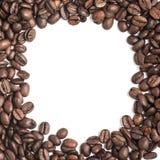 σειρά πλαισίων πλαισίων τροφίμων καφέ φασολιών Στοκ φωτογραφία με δικαίωμα ελεύθερης χρήσης