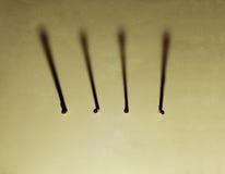 Σειρά ραβδιού αντιστοιχιών στοκ φωτογραφία με δικαίωμα ελεύθερης χρήσης