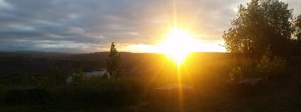 Σειρά σιδήρου καλημέρας Στοκ Φωτογραφίες