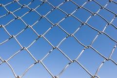 σειρά συνδέσεων φραγών αλυσίδων Στοκ εικόνες με δικαίωμα ελεύθερης χρήσης