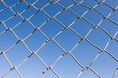 σειρά συνδέσεων φραγών αλυσίδων Στοκ φωτογραφία με δικαίωμα ελεύθερης χρήσης