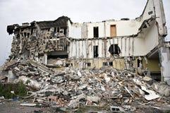 σειρά συντριμμιών κτηρίου Στοκ εικόνες με δικαίωμα ελεύθερης χρήσης