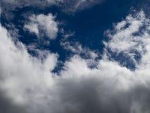Σειρά 5 σύννεφων Στοκ Φωτογραφίες