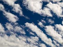 Σειρά 1 σύννεφων Στοκ Φωτογραφία