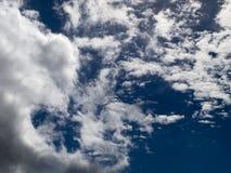 Σειρά 3 σύννεφων Στοκ Φωτογραφίες