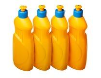 Σειρά τεσσάρων πλαστική μπουκαλιών Στοκ φωτογραφία με δικαίωμα ελεύθερης χρήσης