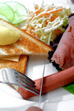 σειρά τροφίμων δυτική Στοκ Φωτογραφίες