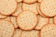 σειρά τροφίμων μπισκότων ανασκόπησης Στοκ Εικόνες