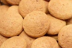 σειρά τροφίμων μπισκότων ανασκόπησης Στοκ Εικόνα