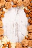 σειρά τροφίμων μπισκότων ανασκόπησης Στοκ φωτογραφία με δικαίωμα ελεύθερης χρήσης