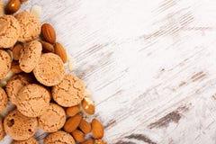 σειρά τροφίμων μπισκότων ανασκόπησης Στοκ εικόνα με δικαίωμα ελεύθερης χρήσης