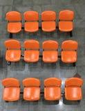 σειρά 3 των καθισμάτων στον αερολιμένα Στοκ φωτογραφία με δικαίωμα ελεύθερης χρήσης