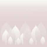 σειρά φύσης φύλλων ανασκόπησης Στοκ εικόνα με δικαίωμα ελεύθερης χρήσης
