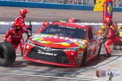 Σειρά φλυτζανιών ορμής NASCAR στο Phoenix Στοκ εικόνες με δικαίωμα ελεύθερης χρήσης