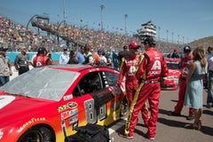 Σειρά φλυτζανιών ορμής NASCAR στο Phoenix Στοκ φωτογραφία με δικαίωμα ελεύθερης χρήσης
