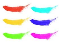 σειρά χρωμάτων Στοκ Εικόνες