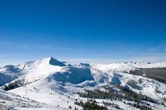 σειρά 5 βουνών στοκ φωτογραφία