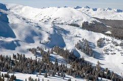 σειρά 6 βουνών στοκ φωτογραφίες με δικαίωμα ελεύθερης χρήσης