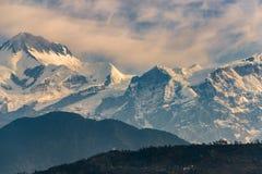 Σειρά Annapurna στην ανατολή Στοκ φωτογραφίες με δικαίωμα ελεύθερης χρήσης