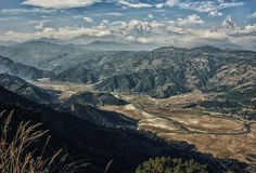 Σειρά Annapurna στο Νεπάλ himalayan Στοκ φωτογραφίες με δικαίωμα ελεύθερης χρήσης