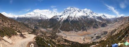 Σειρά Annapurna Στοκ Εικόνα