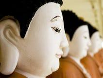 σειρά buddhas Στοκ Εικόνες