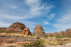Σειρά Bungel Bungel, εθνικό πάρκο Purnululu, Kimberly, δυτική Αυστραλία, Αυστραλία Στοκ Φωτογραφία