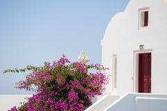 Σειρά Santorini Ελλάδα Στοκ Εικόνα