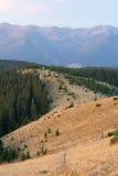 Σειρές βουνών, Carpathians στοκ φωτογραφία με δικαίωμα ελεύθερης χρήσης