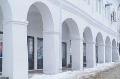 Σειρές που ψωνίζουν arcade σε Kostroma Στοκ Εικόνες