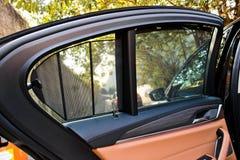 5-σειρές της BMW 2017 παράθυρα Στοκ Φωτογραφίες