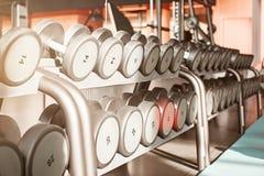 Σειρές των αλτήρων στη γυμναστική Στοκ Εικόνα