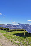Σειρές των ηλιακών πλαισίων Στοκ φωτογραφία με δικαίωμα ελεύθερης χρήσης