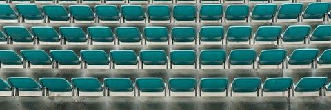 Σειρές των καθισμάτων στο στάδιο Στοκ Εικόνες