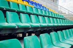 Σειρές των καθισμάτων Στοκ Εικόνες
