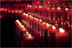 Σειρές των κεριών στοκ φωτογραφία με δικαίωμα ελεύθερης χρήσης