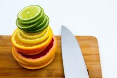 Σειρές των κύκλων φρούτων Στοκ Εικόνα