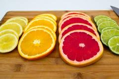 Σειρές των κύκλων φρούτων Στοκ Εικόνες